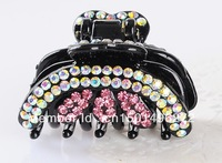 Fashion  Bright Rhinestone Crystal Hair clips Hair Jewelry Accessories For Women  Free Shipping