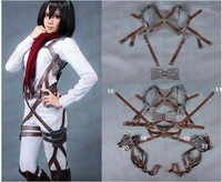 Japanese Anime Attack on Titan Scouting Legio Full-Body Belt Cosplay Apron costume
