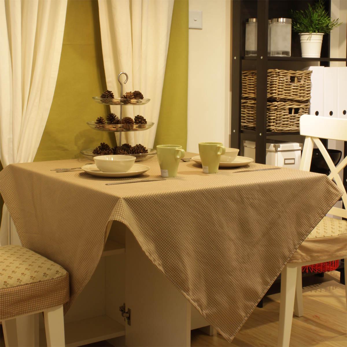 E furnishings card plaid zakka cloth dining table cloth tablecloth table cloth customize(China (Mainland))