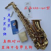 Mp3 xas-160 e alto saxophone electrophoresis gold