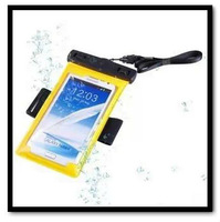 IPX8 10M Waterproof Protective Pouch Bag Cover Case For Samsung Galaxy Note I9200/Note 2 N7100/ S3 i9300/S4 I9500 Mobile Phones