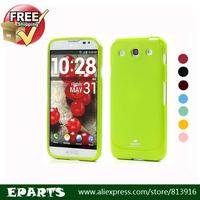 Free Shipping Mercury Glitter Powder Soft TPU Case Cover for LG Optimus G Pro E980 E985 F240 F240K