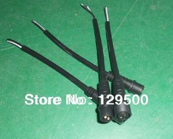 led black 2 Core Waterproof Line,15cm long each;male and female