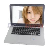 "14"" windows 7 laptop netbook Intel Atom D2500 dual core 1.86GHz 2GB RAM 160GB HDD support WIFI RJ45 1280x800pix"