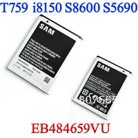 For Samsung Galaxy Xcover S5690 W I8150 Omnia W I8350 Transfix R730 S8600 EB484659VU 1500mA Replacement Battery Bateria AKKU