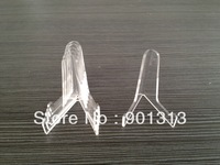 free shipping clear acrylic coin display 2 inch height, 100pcs/bag