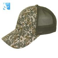 New arrival actionfox summer lovers design hat print mesh baseball cap 2094
