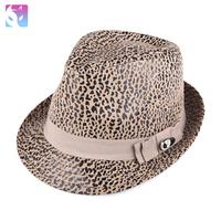 Fox summer hat male women's general fashion cap leopard print fashion fedoras afc-0858