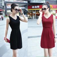 Fashion new Female   summer slim silk skirt lace chiffon slim hip  size long sleeve length skirt 2  sexy dress