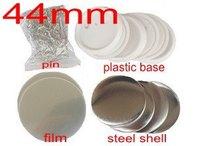 Badge maker supplies 44mm blanks 100sets