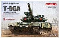 Meng TS-006 1/35 scale  RUSSIAN MAIN BATTLE TANK T-90A
