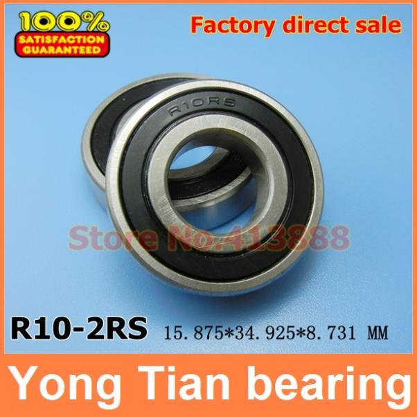 Шариковый подшипник с глубоким жёлобом Neutral brand or YTZH r10/2rs 15.875 * 34.925 * 8.731 5/8 x 1 3/8 x 11/32 R10 R10RS R10-2RS 5207 2rs bearing 35 x 72 x 27 mm 1 pc axial double row angular contact 5207rs 3207 2rs 3056207 ball bearings