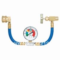 Automotive air conditioning energy efficiency enhancer supplement super-efficient air conditioning copper tube pressure gauge Y5