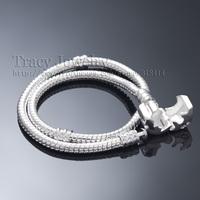24hours dispatched!!! 10pcs/lot 3MM Snake Bracelelt, Charm Bracelet,925 Stering Silver Plated fit for PAN Bracelet
