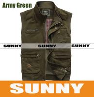 Men's sleeveless casual jackets 8279