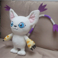 18'' Digimon: Digital Monsters / Digimon Adventure Tailmon Gatomon Plushie Handmade Stuffed Plush Toy Cos Props