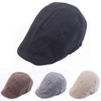 2014 New Cap spring and autumn summer strawhat white mesh beret straw braid forward cap benn parent-child hat