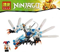Free shipping Phantom Ninja series Ice Dragon Attack Ninjago Minifigures toys building block sets toy eductional children toys