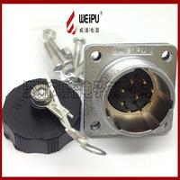 Aviation plug industrial plug cable plug ws28 20 core 24 core 26 core