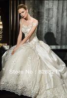 New white/ivory wedding dress custom size 2-4-6-8-10-12-14-16-18-20-22