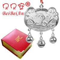 99 silver baby pure silver longevity lock baby necklace silver baby lock male Women