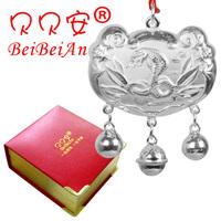 99 silver baby pure silver longevity lock baby necklace silver baby lock male Women