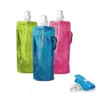 folding portable bottle Hiking \climbing \ traveling water kettle, outdoor water bag  480ml