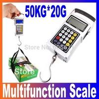 50KG/20g Multifunction Electronic Fishhook Digital Scale,freeshipping, dropshipping wholesale