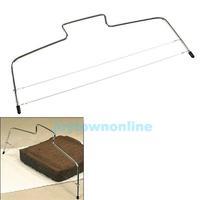 Adjustable Wire Cake Slicer Leveler Stainless Steel Slices  #1JT
