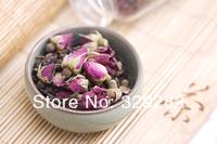 2000 year Royal puer tea,1000g Rose flavor Puerh Tea, Ripe Puer tea with Rose flower,Ripe Pu'er Tea, Free Shipping