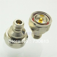 L29 7/16 DIN male plug to N female jack straight RF adapter connector