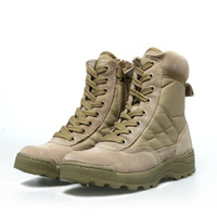 Free shipping hot sell Cqb swat outdoor sport shoes male tactical desert mountain combat boots