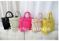 2013 New Arrival shoulder Bags Women designers banded high Quality Tote Handbags Vintage Bags black  white