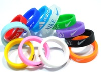 Free Shipping  Men's sport  Silicone Rings Lots  Mix color