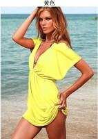 Ice Silksand beach vacation beach dress bikini Europe free shipping