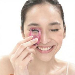 G273 6 wu peici girl small mini eyelash curler - color(China (Mainland))