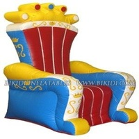 Inflatable throne King's chair, inflatable replicas K3025