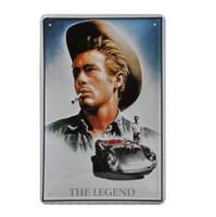 The Legend Retro Tin signs for decor 11.8'' X 7.87'' YQ-114