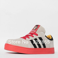 Skateboarding Shoes Sport Shoes Little Monkey Women's Casual Shoes Men's High Fashion Hip-hop Shoes 0846