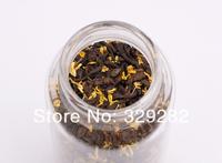 2001 year Royal puer tea,110g Osmanthus flavor Puerh Tea, Ripe Puer tea with Osmanthus flower,Ripe Pu'er Tea, Free Shipping