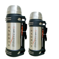 Super large capacity thermal bottle 2.5l stainless steel outdoor vacuum cup hot water bottle travel pot