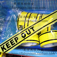 HOT SALE Cosplay props keep out keepout yellow tape