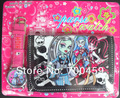 New Lot  5 sets Monster High Watches wristwatches with + Purses Wallets