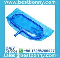Economy pool leaf deep net leaf rake skimmer with PE net
