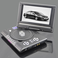 7 inch portable dvd HD mobile dvd 2 colors (black and silver) 1pcs/lot
