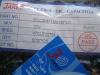 electrolytic capacitors 16V470UF 16V 8 * 11 500 35  a pack promotion