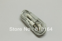 Drop shipping 1pcs earphone with Mic for Iphone 3GS 4G 4 IPOD ,3.5mm handfree headphone for iphone ipod