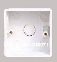Type 86 Wall mounting box wall switch socket box LED light box installed inside the wall junction box, 4pcs/lot