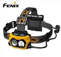 Fenix hp25 led headlamp dual light source super bright waterproof headlamp 360