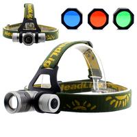 Gd20 q5 focusers caplights led light charge 5w fishing lights miner lamp cree headlamp variofocus 18650